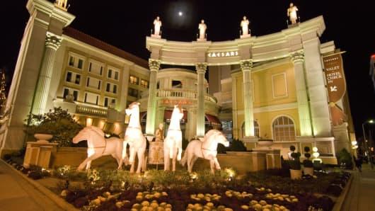 Caesar's Palace in Atlantic City.