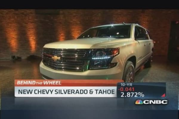 New Chevy Silverado & Tahoe