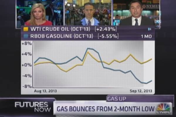Seeking the bottom for gasoline