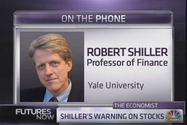 Robert Shiller: 'Don¿t expect miracles'