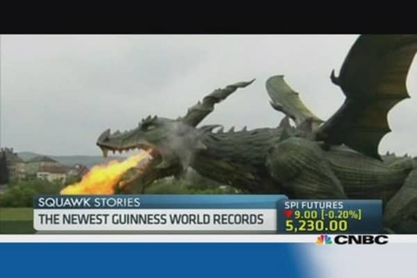 Kooky Guinness world records