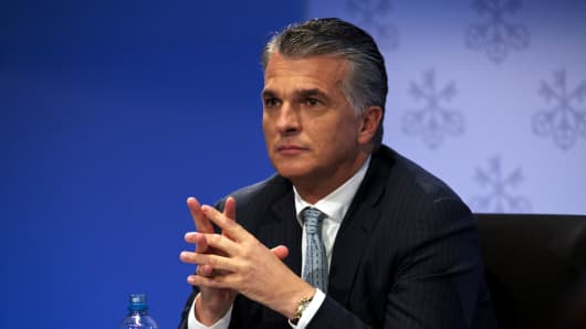Sergio Ermotti, chief executive officer of UBS