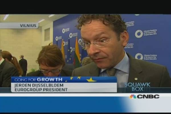 Eurogroup president defends EU banking union