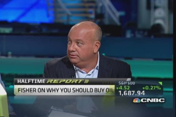 Buy dip in oil, look at nat gas: Mark Fisher