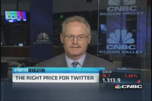 What's Twitter really worth? Shareholder weighs in