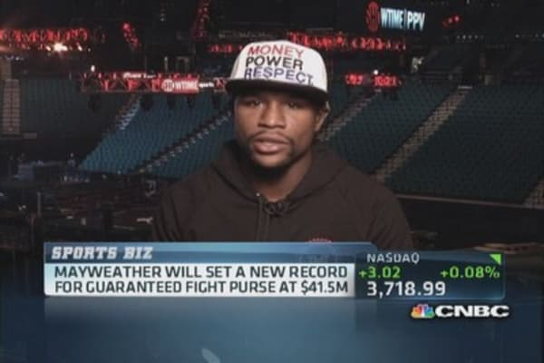 Expensive fight night: Mayweather vs. Canelo