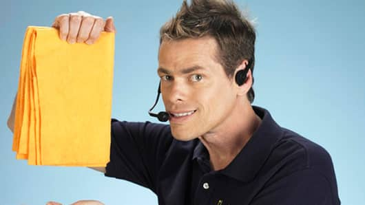 Vince Offer as The ShamWow Guy