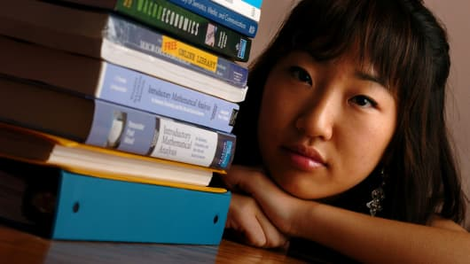 A student reflects on the high cost of text books.