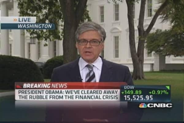 Recap of President Obama's speech on economy