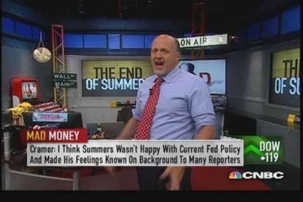 Market viewed Summers as one-man wrecking crew: Cramer
