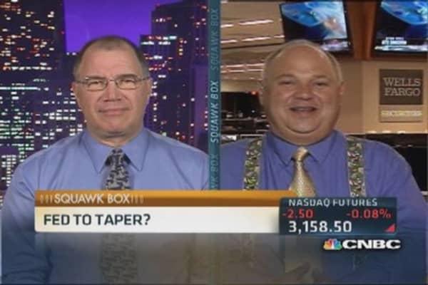Markets await Fed's tapering plan