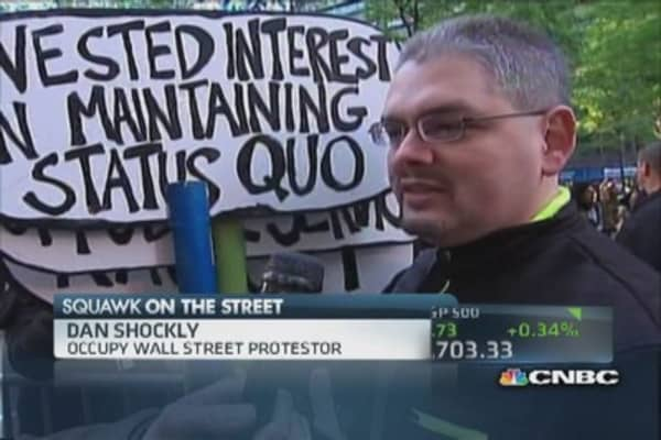 Occupy Wall Street, two years later