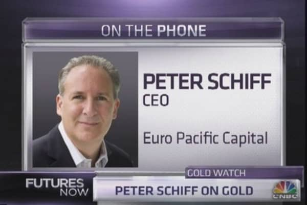 Schiff: Whatever Fed does good for gold