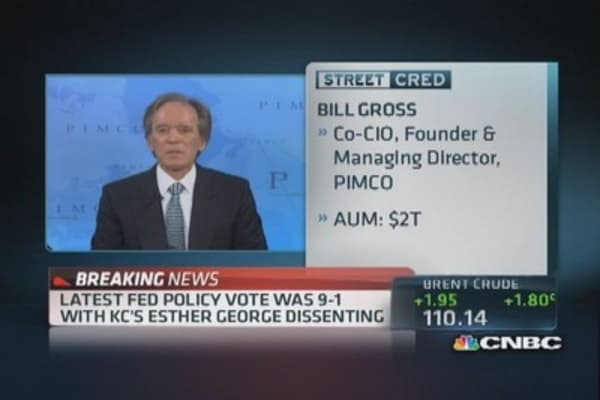 Pimco's Gross on no taper: 'Hand off from Bernanke's Fed to Yellen's Fed'