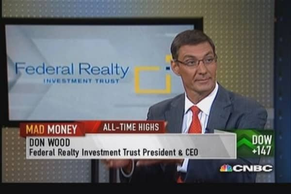 Federal Realty CEO: Increased lease rates 22% in Q2