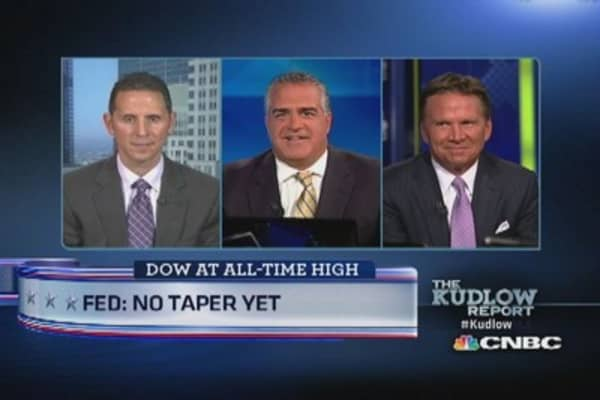 Fed: No taper yet
