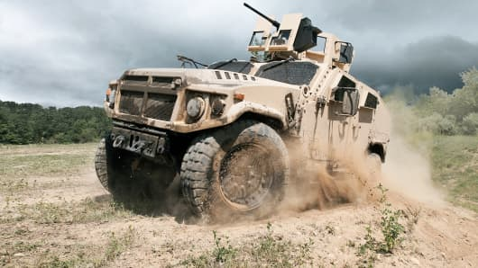 AM General entrant in JLTV bid war