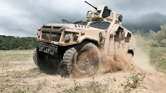 AM General entrant in JLTV bid war