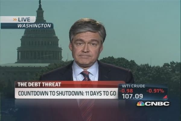 Government shutdown threat looms