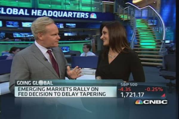 Emerging markets rally