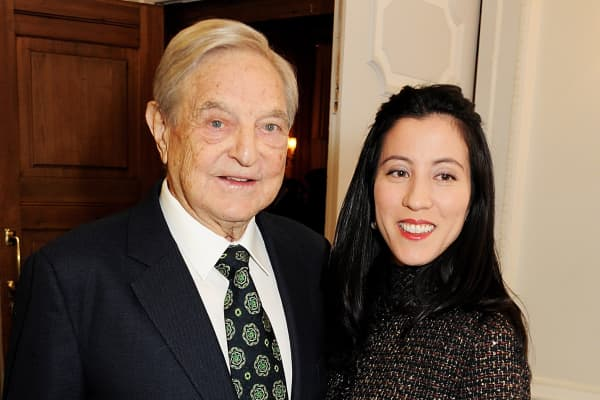 George Soros and Tamika Bolton