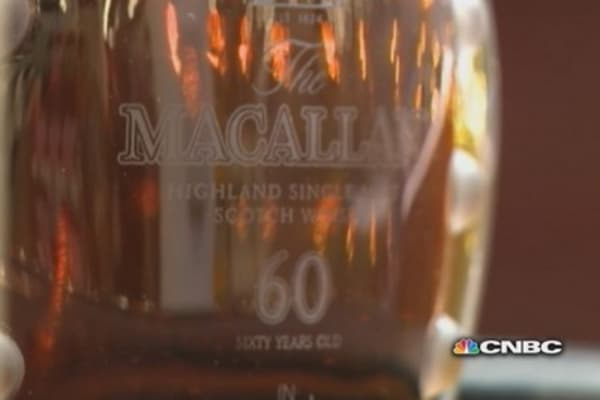 Rare 60-year old Macallan for sale ... at Costco