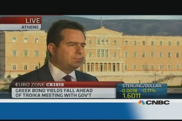 Greece is 'open for business': minister