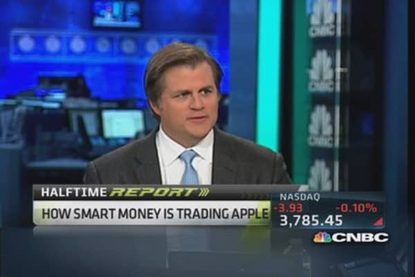 'We're 100 percent out of Apple': Hedge-fund manager