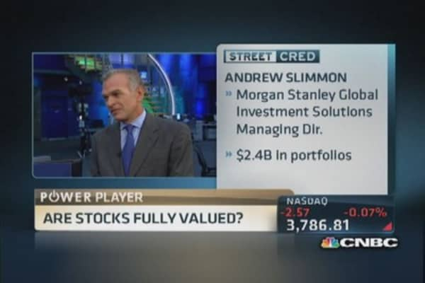 Are stocks fully valued?