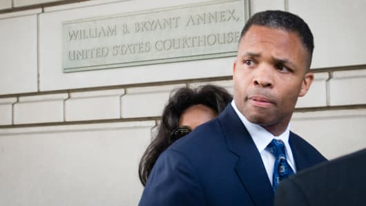 Jesse L. Jackson Jr. was sentenced to 2 1 / 2 years in prison for stealing hundreds of thousands of dollars in campaign money to fund an extravagant lifestyle over many years. His wife, Sandra, was sentenced to one year.