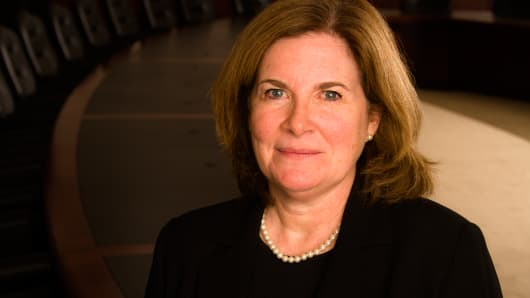 """I don't want us to be behind the curve,"" KC Fed President Esther George says."