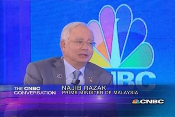 The CNBC Conversation with Malaysia's PM