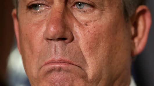 House Speaker John Boehner, R-Ohio.
