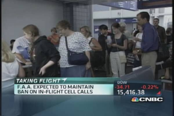 New rules for devices on planes