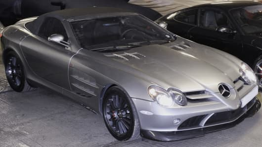 A Mercedes McLaren used to secure a £120,000 loan from Borro