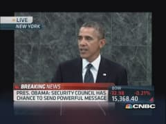 Pres. Obama's UN address focuses on Middle East
