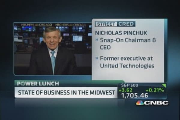 Snap-On CEO: 80% tools manufactured in US