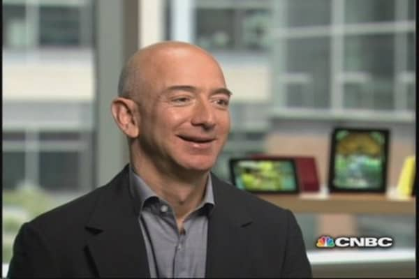 Amazon's Bezos: Control the ecosystem