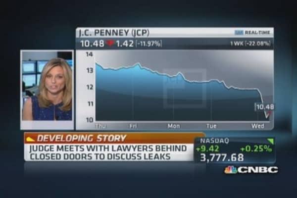 Macy's vs. JC Penney: Judge tries to get handle on media leaks