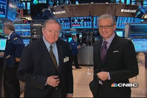 90 Seconds with Art Cashin: S&P tests key level