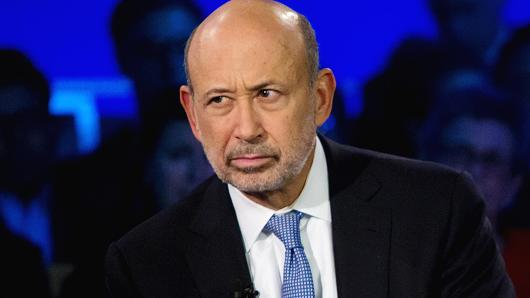 Lloyd Blankfein speaks at the Clinton Global Initiative annual meeting in New York.