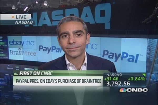 eBay buys PayPal competitor Braintree