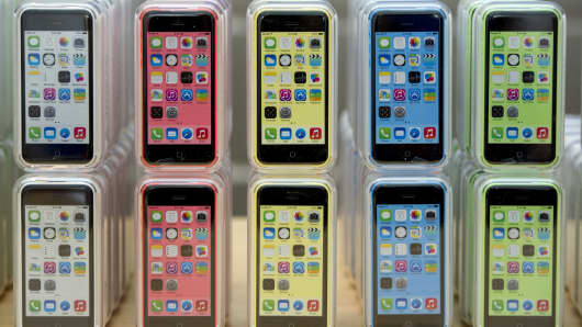 Apple iPhone 5c devices