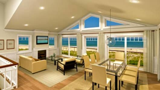 Beach house as shown on Panoramic Views website