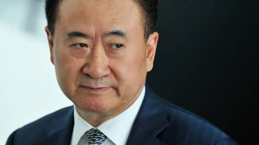 Wang Jianlin, chairman of the Dalian Wanda Group