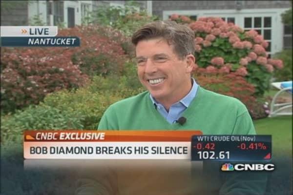 Bob Diamond breaks his silence