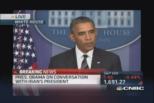 President Obama on Iran and debt