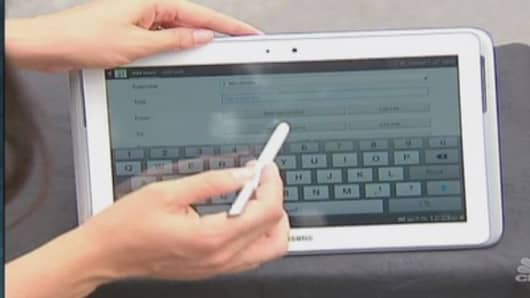 Cash in on tablet mania
