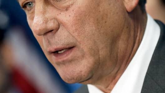 House Speaker John Boehner.