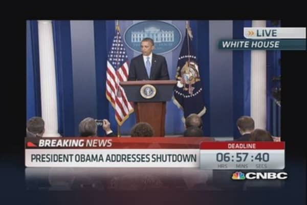 Obama: Shutdown will have real impact